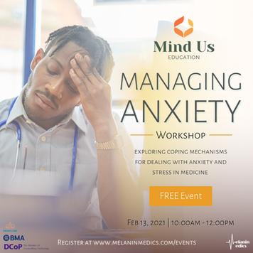 Managing Anxiety Workshop