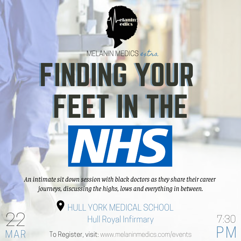 Finding Your Feet in the NHS