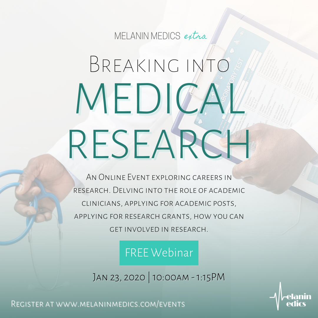 Breaking into Medical Research