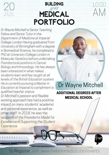 Dr Wayne Mitchell
