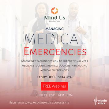 Managing Medical Emergencies Webinar