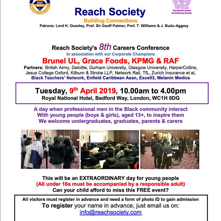 Reach Society's 8th Careers Conference