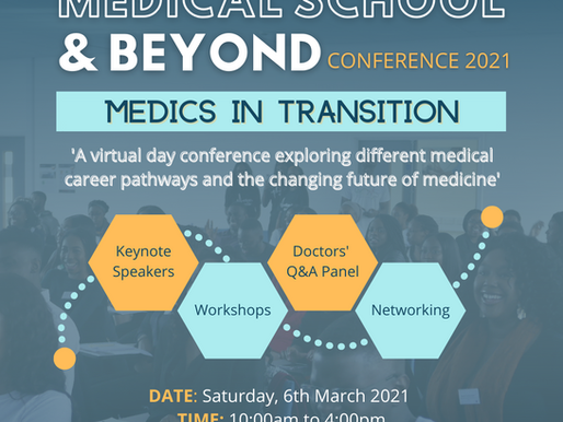 Events Update: Medical School and Beyond Conference