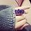 Thumbnail: Amethyste ring