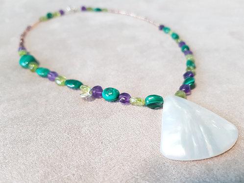 Necklace Precious life & Sea