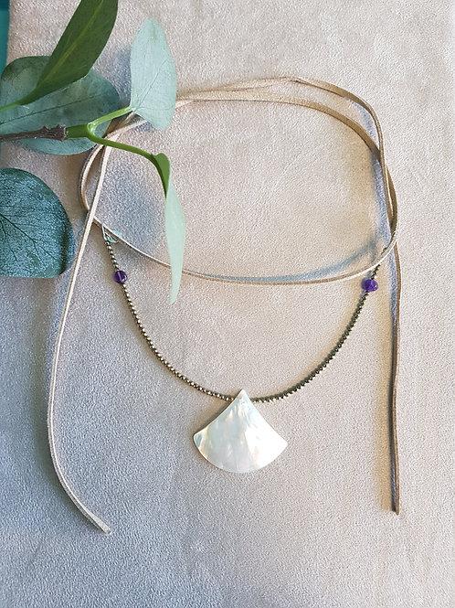 Summer ocean necklace