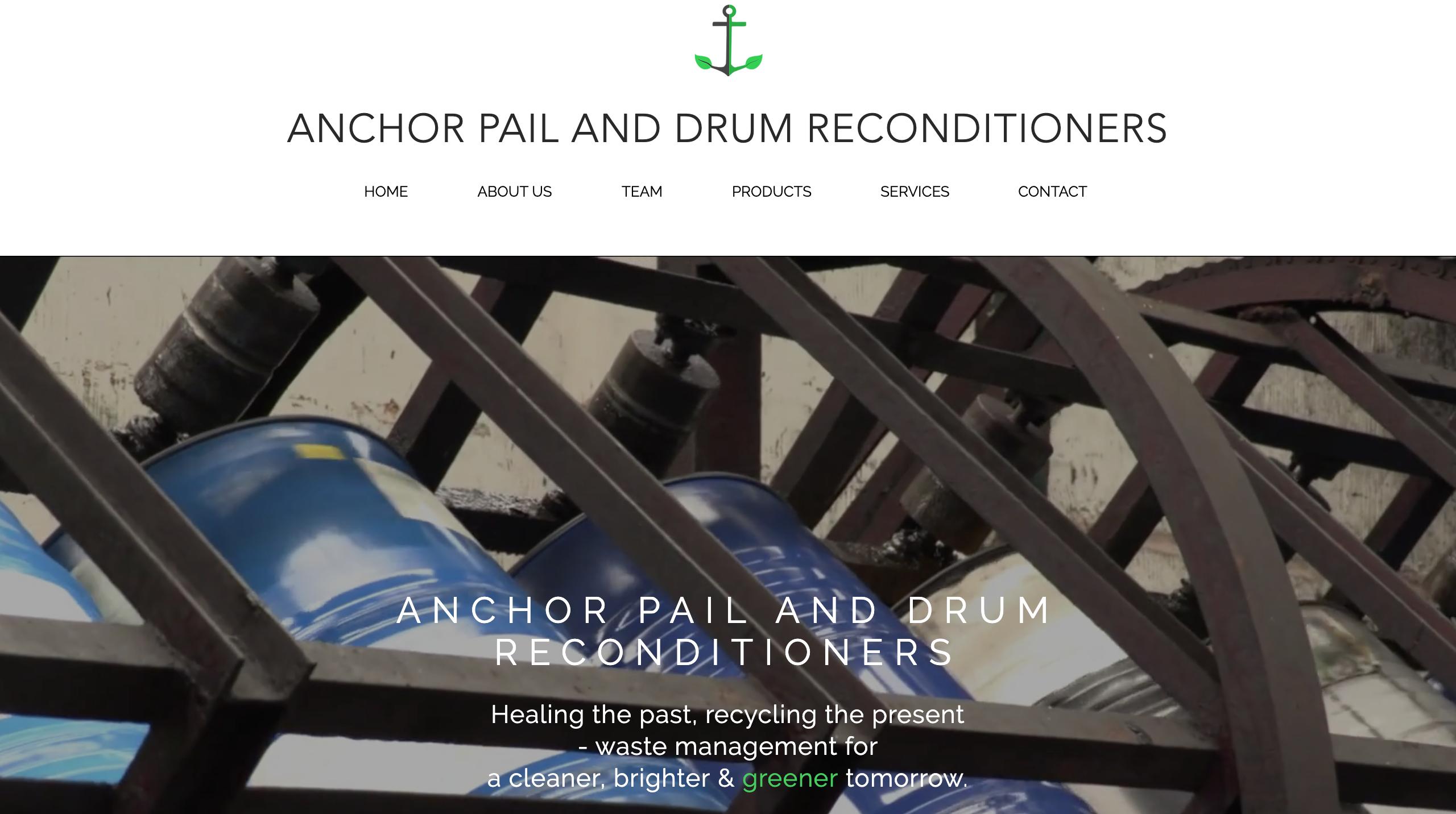 Anchor Pail & Drum