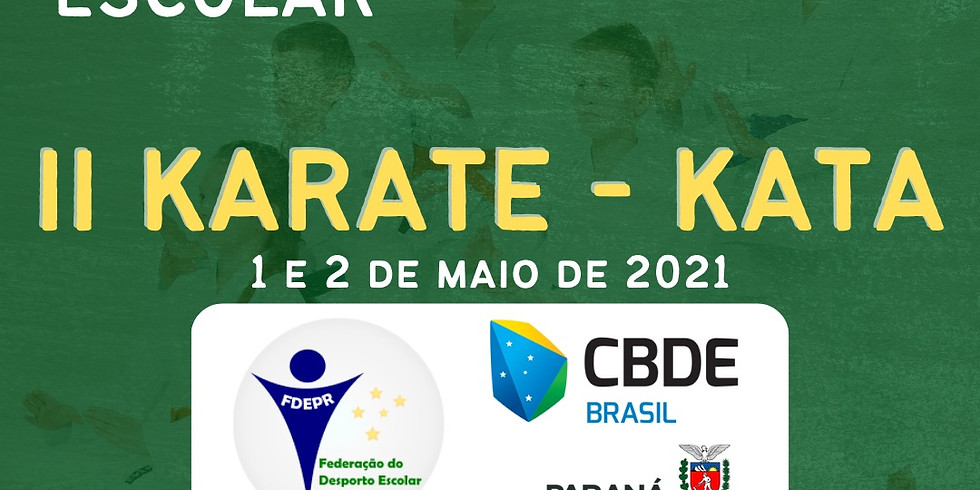 Torneio Virtual Escolar 2021 - Etapa Karatê Kata