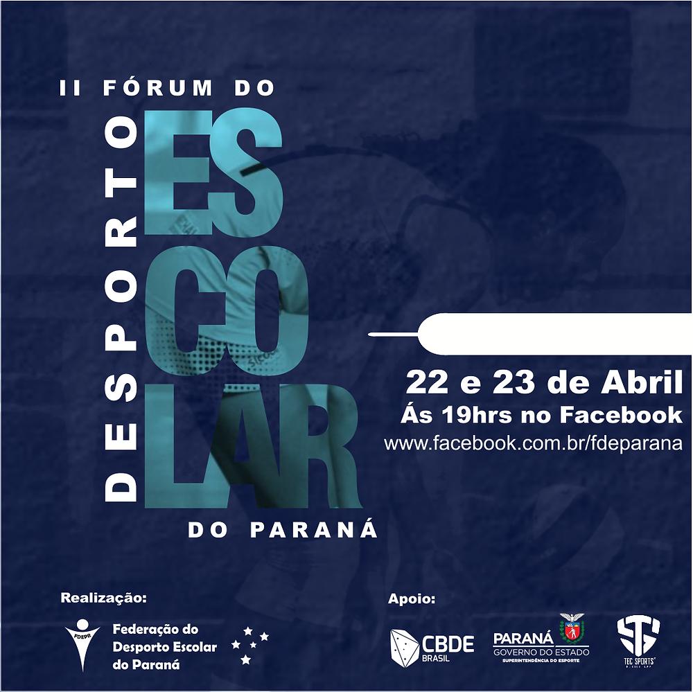 II Fórum do Desporto Escolar do Paraná