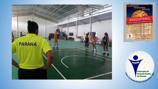 Campeonato Parananse Escolar de Basquetebol 2019