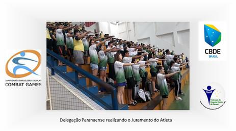 Delegação Paranaense - Brasileiro Escolar Combat Games