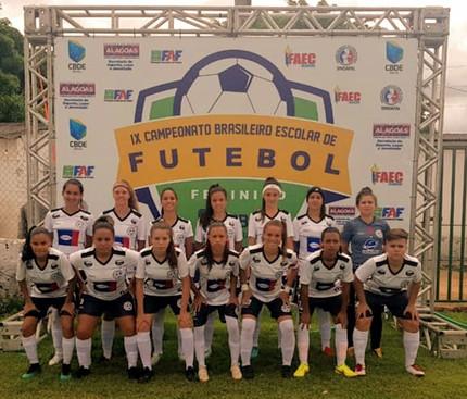 Colégio Estadual Tsuru Oguido - Brasileiro Escolar de Futebol Feminino