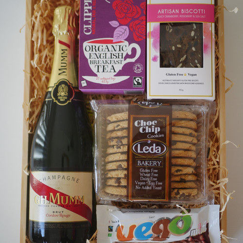 Crateful australia vegan hampers gluten free hampers perth high tea crate negle Choice Image