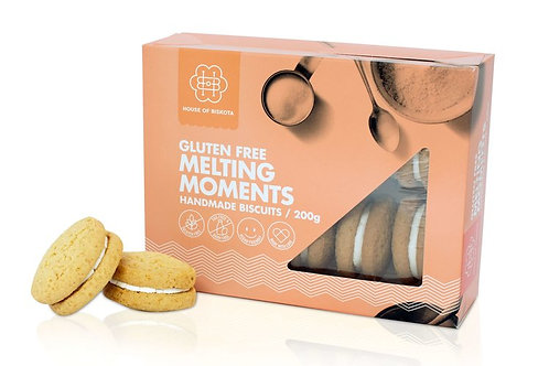 Gluten Free Melting Moments Biscuits