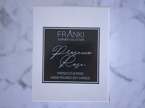 Franki Collective Prosecco Rose Soy Candle