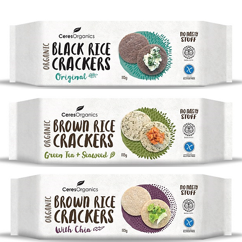 Ceres Organics Rice Crackers