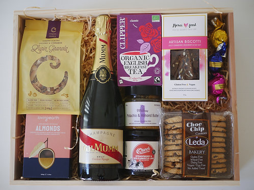 Luxury Champagne Breakfast Crate