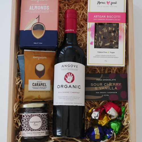 Crateful australia vegan hampers gluten free hampers perth sweet treat crate negle