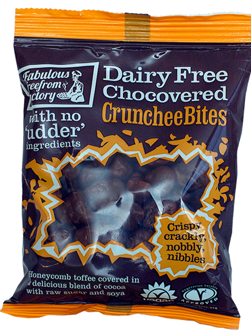 Chocolate Covered Crunchee Bites