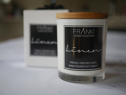 Franki Collective Linen Candle