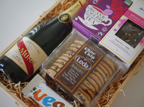 High tea crate crateful australia vegan hampers gluten free a beautiful gift for any high tea lover some biscotti choccies tea and of course bubbles perfect for a bridal shower engagement new home or new baby negle Choice Image