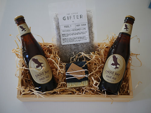 Crateful australia vegan hampers gluten free hampers perth the perfect little crate for any man vegan gluten free available negle Gallery