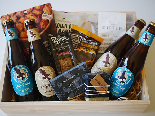 Crateful australia vegan hampers gluten free hampers perth a crate with all the favourites for any man vegan gluten free available negle Gallery