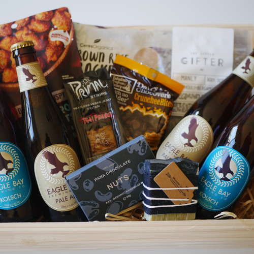 Crateful australia vegan hampers gluten free hampers perth full pint crate negle Image collections