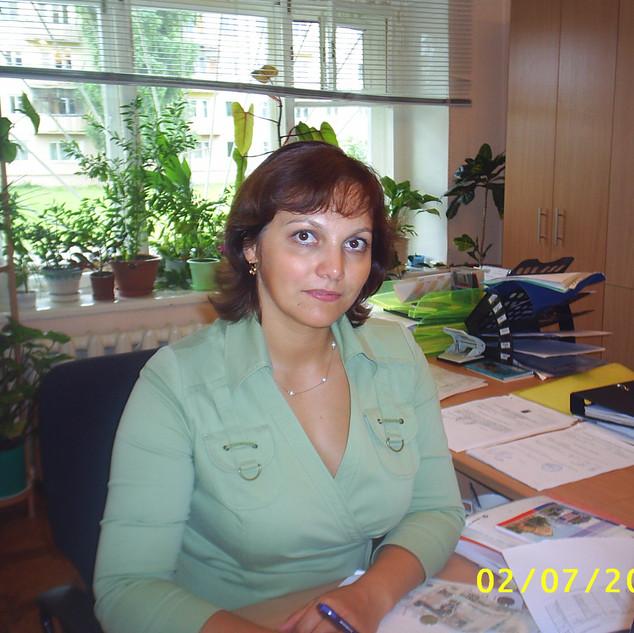Гавный бухгалтер Волжанина Е.И. (работала с 06.10.2003-13.01.2013)