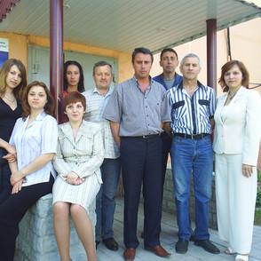 Коллектив 2007г. Возле АТС