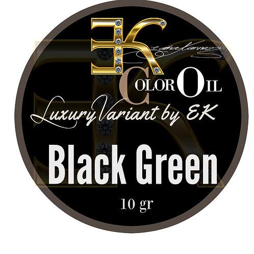 Black Green / LIQUID / Separated Colors -10 gr.