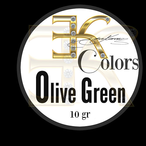 OLIVE GREEN / POWDER COLOR (10gr)