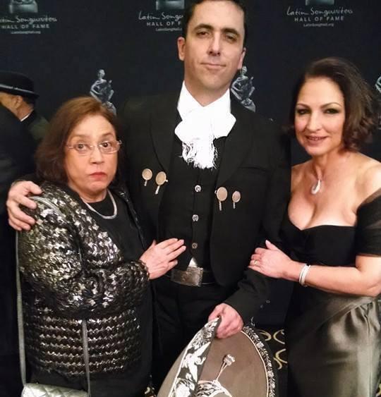 Rafael Negrete con Gloria Estefan