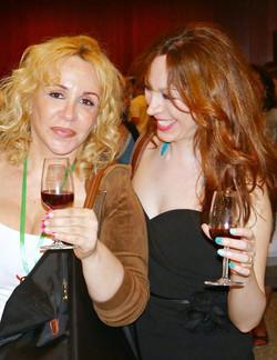 Edna Kannan and Nelia Ferreira
