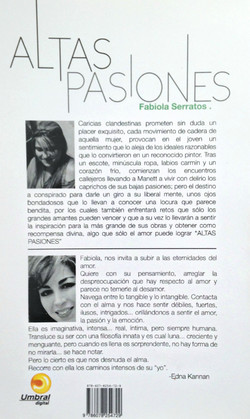 """Libro """"Altas Pasiones"""""""