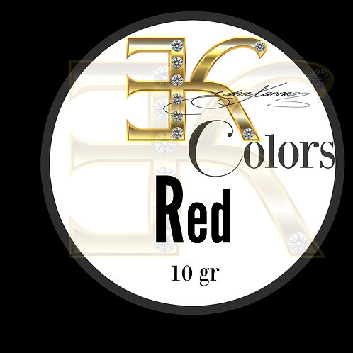 RED /  POWDER COLOR (10 gr)