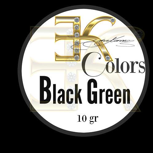 BLACK GREEN / POWDER COLOR (10gr)
