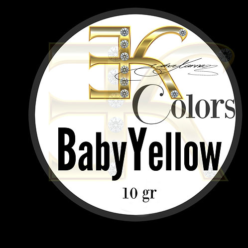 BABY YELLOW /  POWDER COLOR