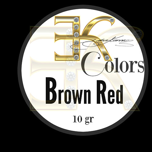 Brown Red /  POWDER COLOR (10gr)