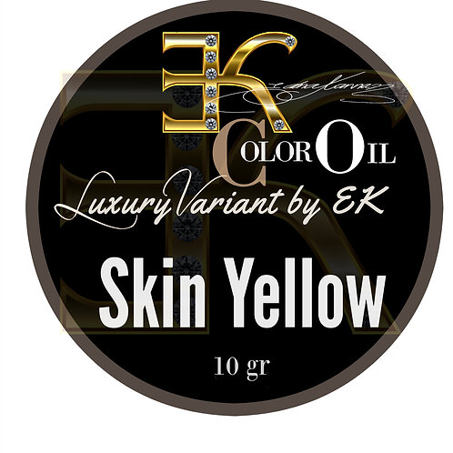 Skin Yellow / LIQUID / Separated Colors -10 gr.