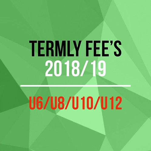 Termly Fee's U6/U8/U10/U12/U14