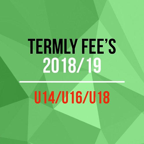 Termly Fee's U14/U16/U18