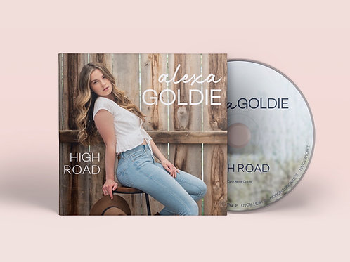 Alexa Goldie AUTOGRAPHED Highroad EP