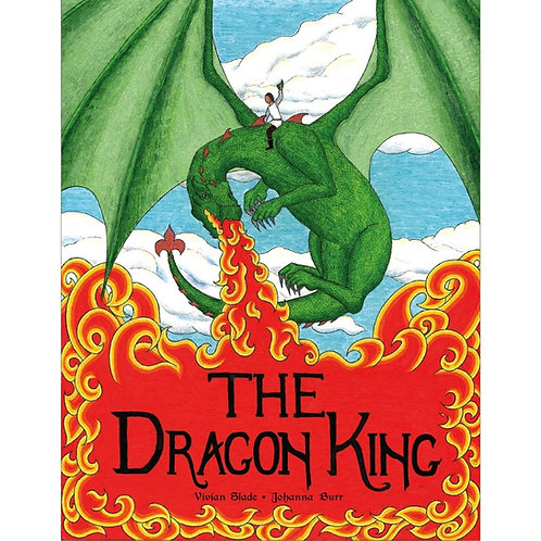 The Dragon King Children's Book with Audio CD