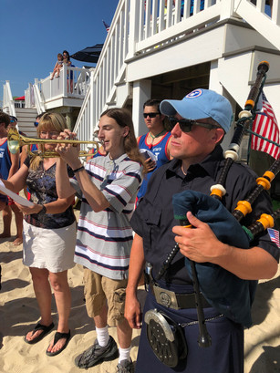 July 4th Bagpipers