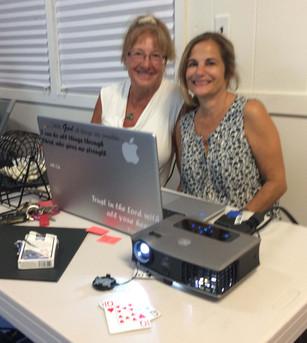 Lorraine & Lauren thank all our bingo groupies