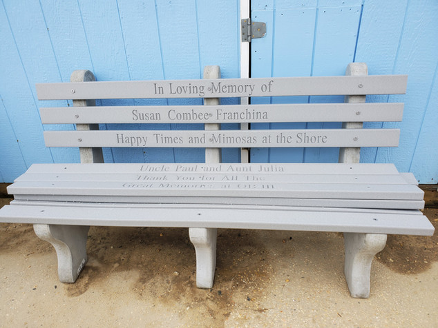 2020 Commemorative Benches
