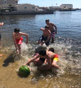 Watermellon Race - we have a winner