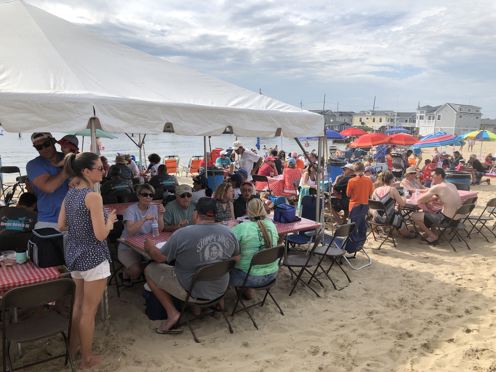 Crowds at Pig Roast