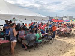 Crowds at Pig Roast